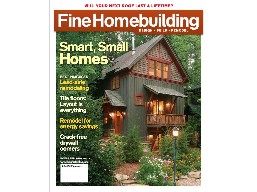 100 Fine Homebuilding Knight Architect Llc U2013